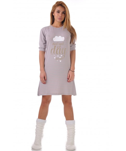 Women's nightgown with print