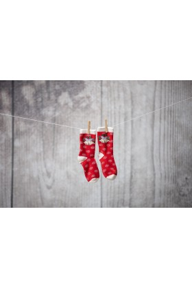 Socks Christmas bell