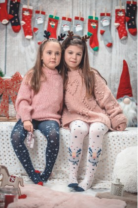Children's tights Merry Christmas
